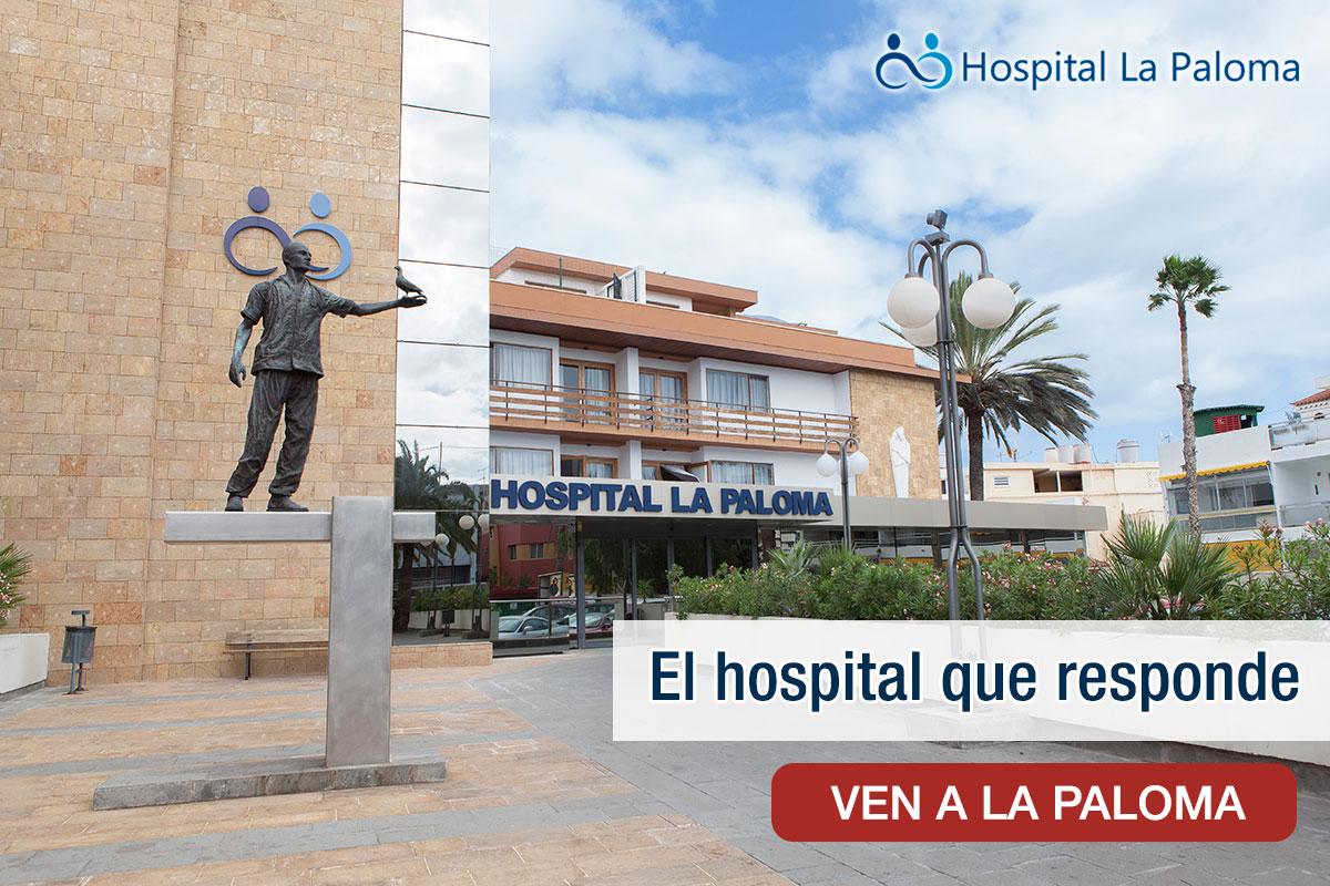 Instalaciones del Hospital La Paloma en Las Pamas