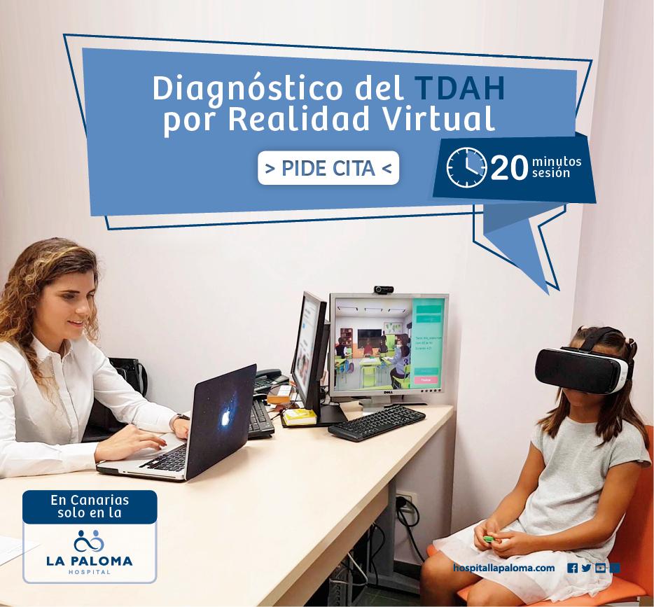Diagnóstico del TDAH por realidad virtual - Hospital La Paloma