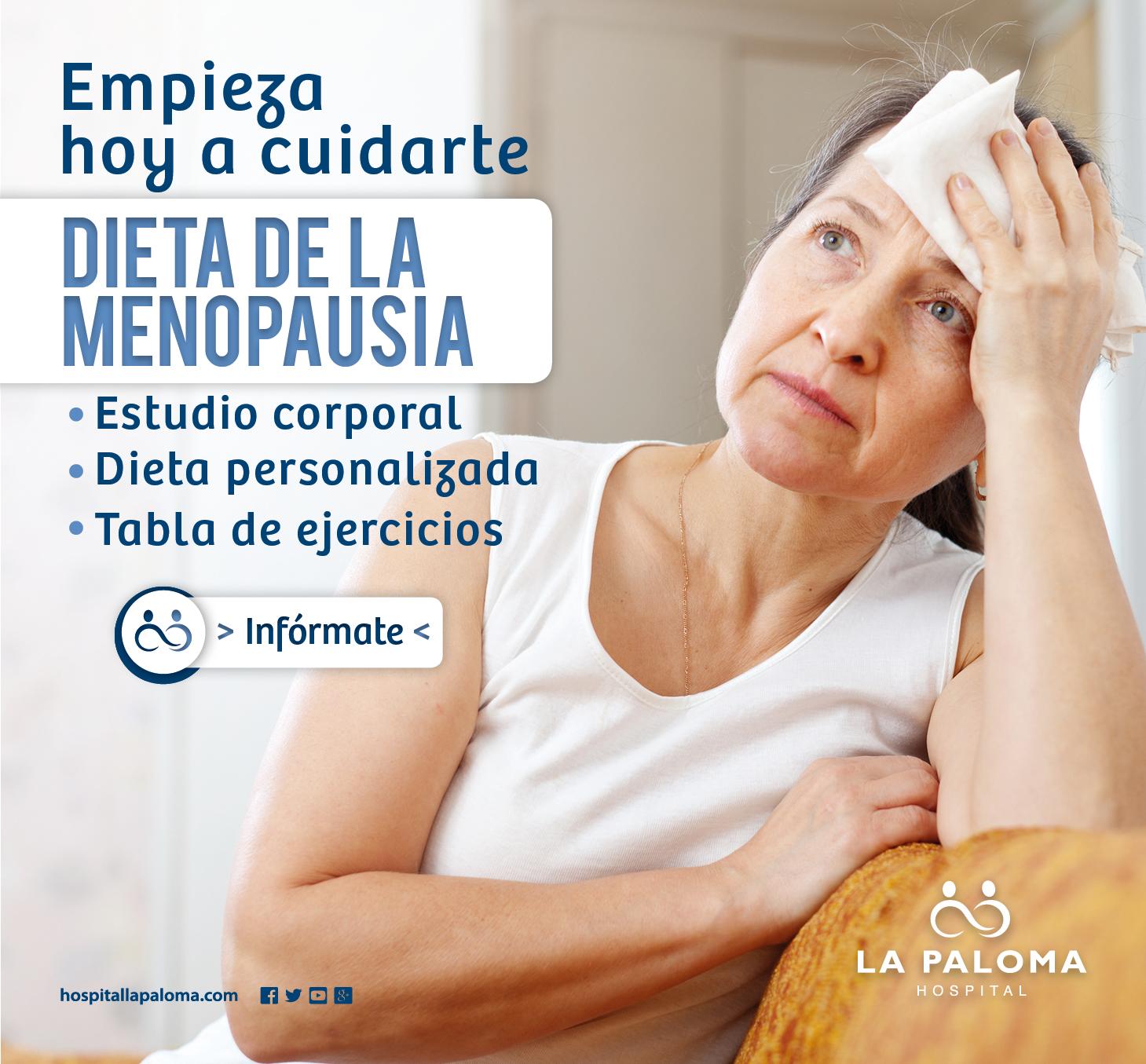 Promoción Dieta en la menopausia - Hospital La Paloma
